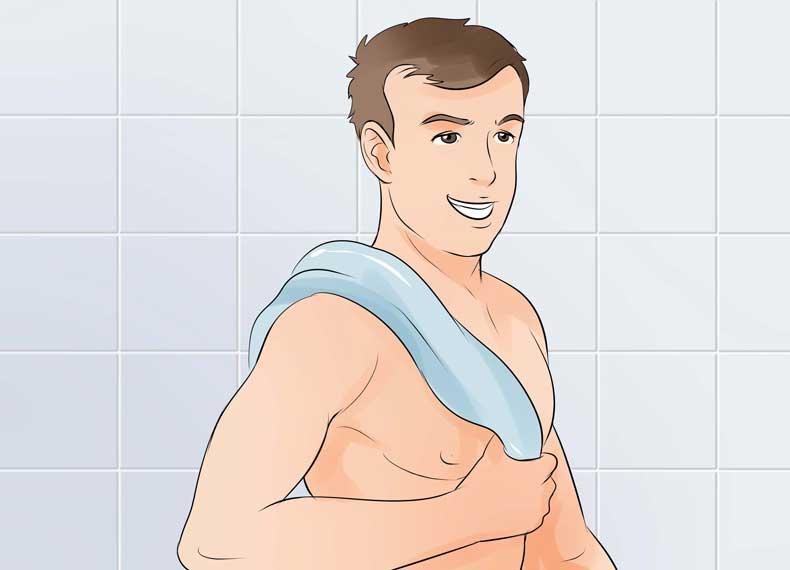 جلوگیری از لک شدن یقه