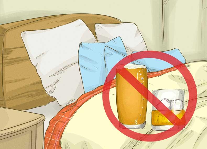 مصرف الکل و خواب