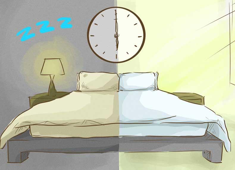 به سرعت خوابیدن