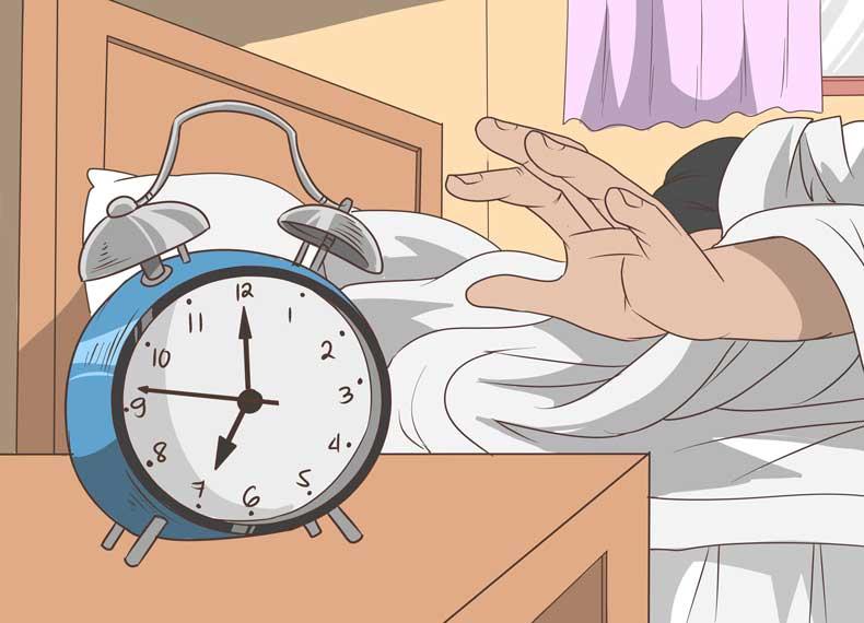 صبح زود بیدار شدن