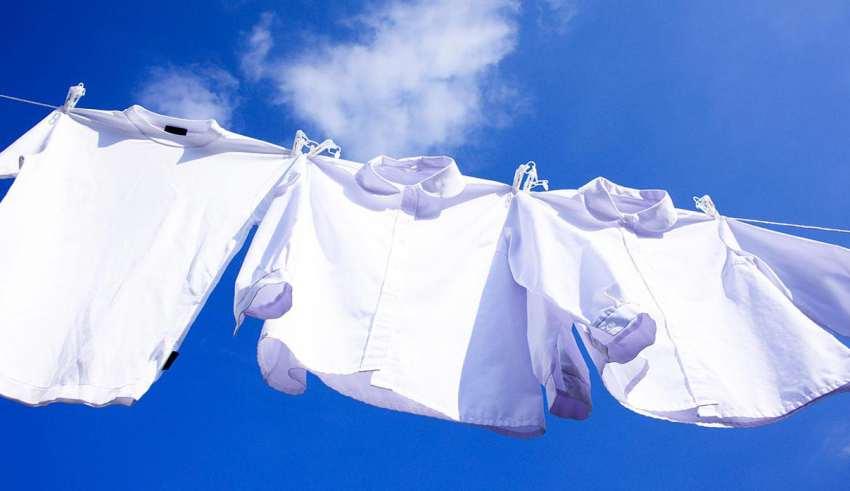 شستن لباس سفید