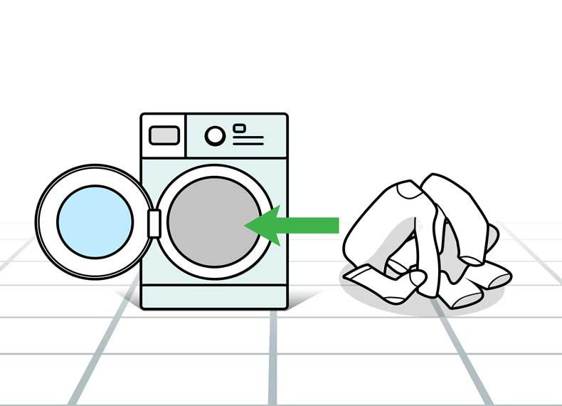 طرز شستن لباسهای سفید