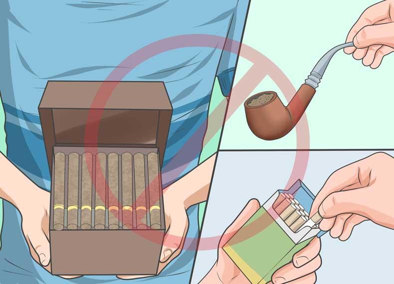 ترک تدریجی سیگار