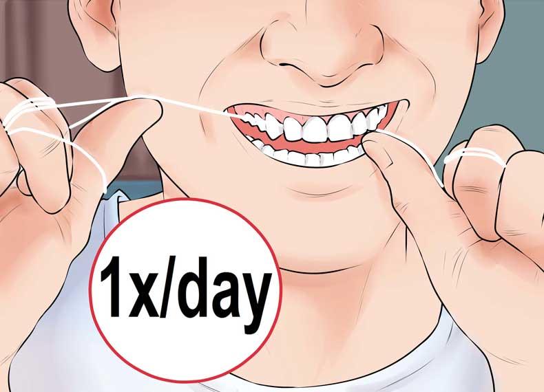 نخ دندان و التهاب لثه