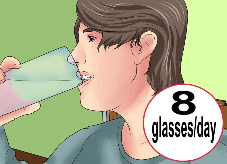 تاثیر آب در التهاب لثه