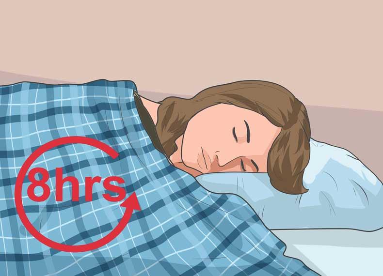 ارتباط خواب و تب خال