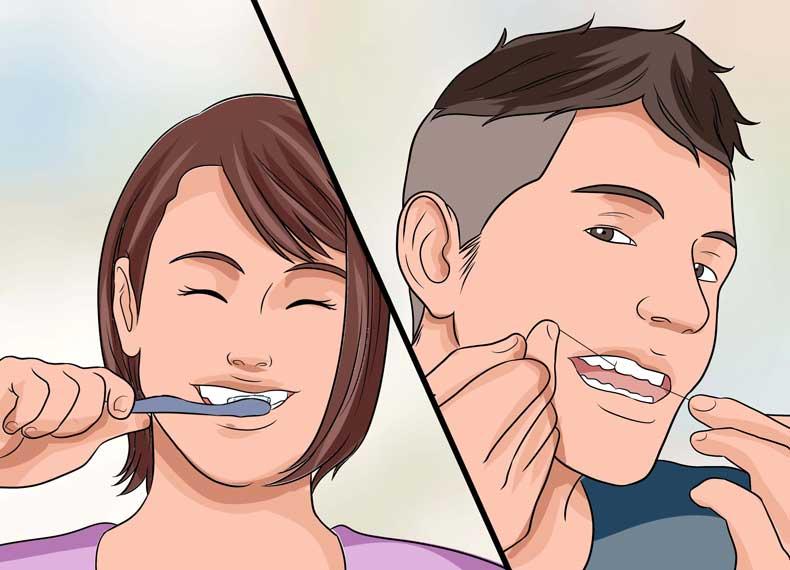 جلوگیری از خرابی مینای دندان