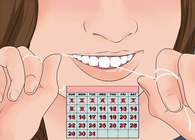 تاثیر نخ دندان بر پوسیدگی