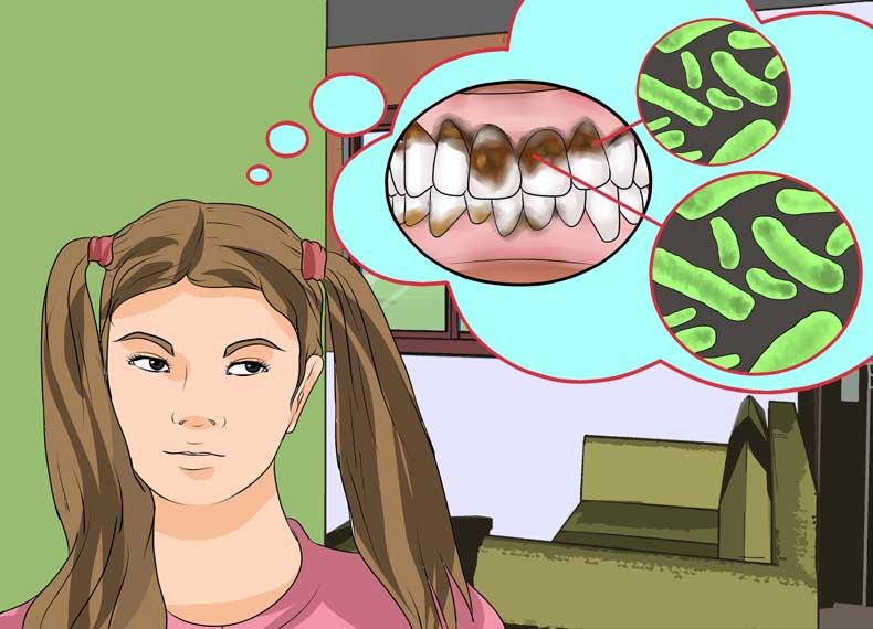 علت خرابی دندان