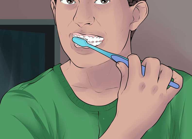 تاثیر مسواک روی پوسیدگی دندان