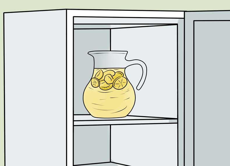 لاغری با آب میوه