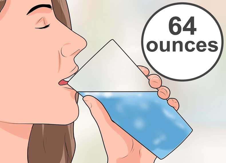 روزه آب برای لاغری