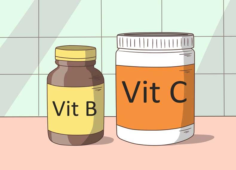 مولتی ویتامین برای آفت