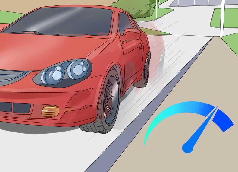 آموزش رانندگی در سربالایی