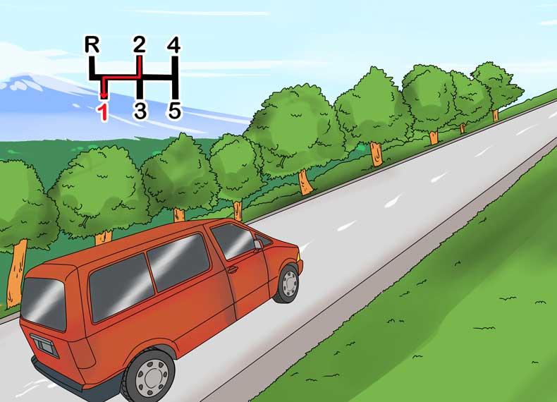 رانندگی در سربالایی