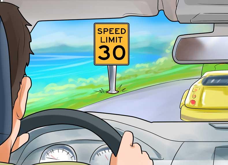سرعت مجاز سبقت