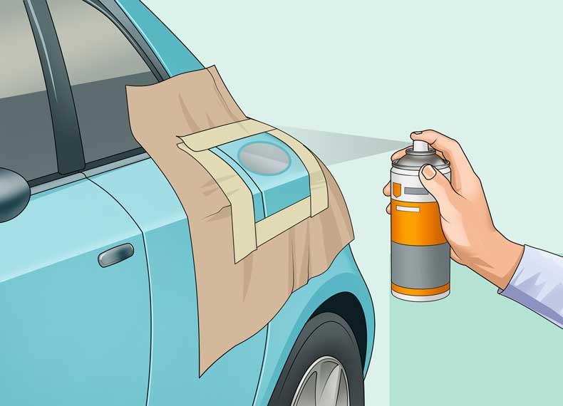 ضد زنگ بدنه ماشین