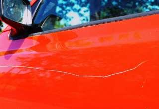از بین بردن خط روی ماشین