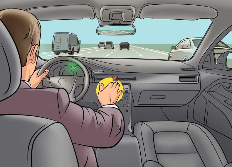 ماشین بدون ترمز