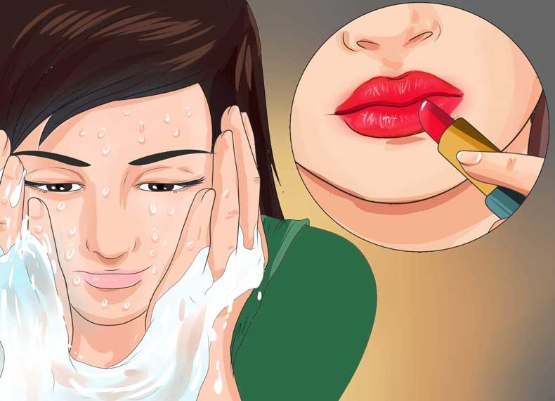 درمان سریع ترک لب