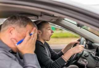 آزمون شهری رانندگی