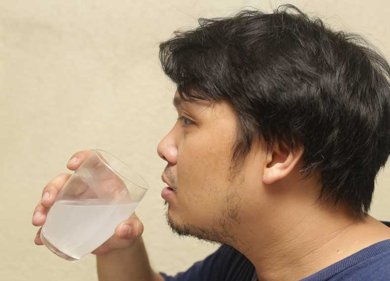 طرز استفاده از آب برنج