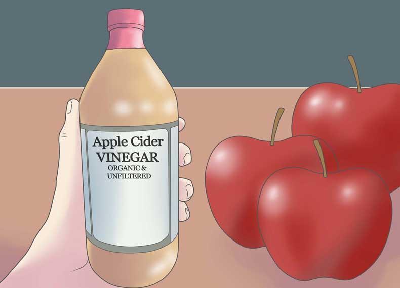 پاکسازی کبد با سرکه سیب
