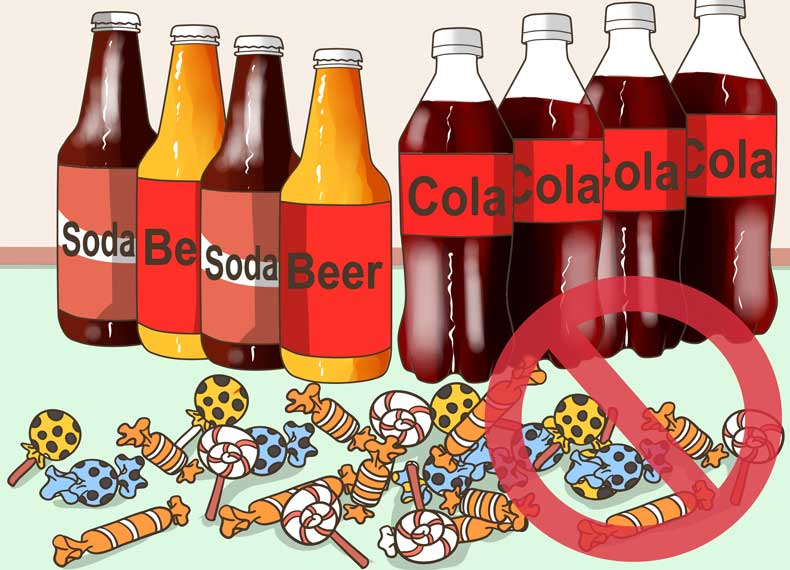 اسیدی ترین موادغذایی