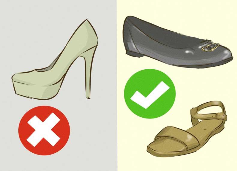 ارتباط کفش با سرگیجه
