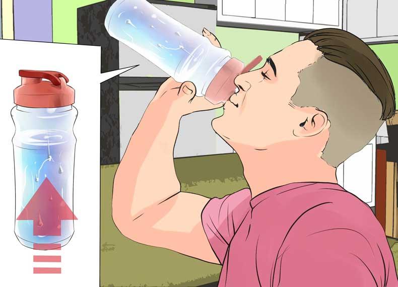 افزایش مصرف آب
