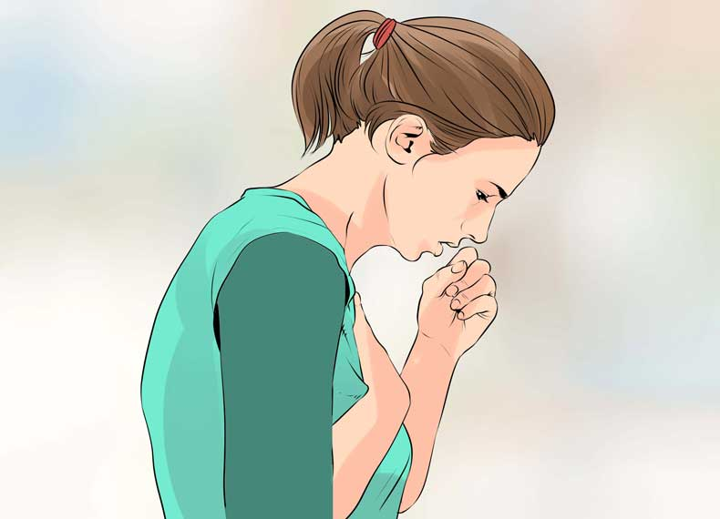 علت سرفه زیاد در آسم
