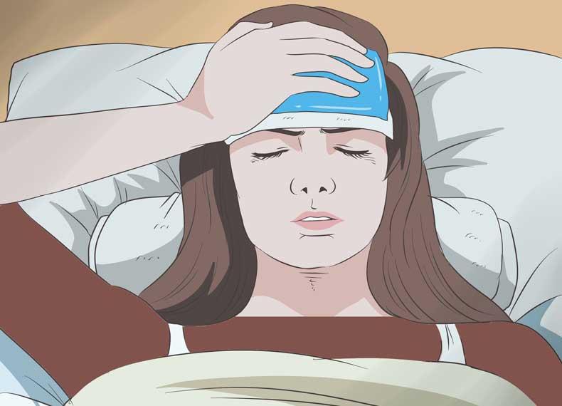 کاهش عوارض میگرن چشمی
