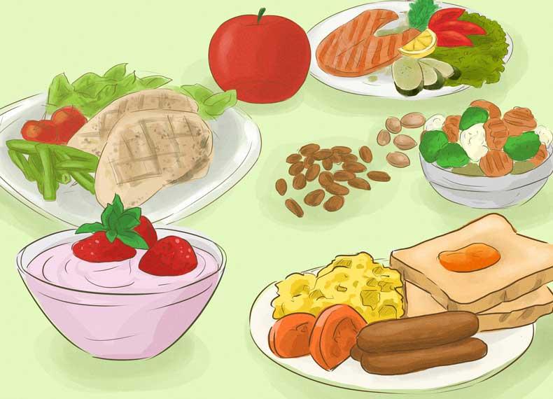 رژیم غذای مناسب برای هپاتیت