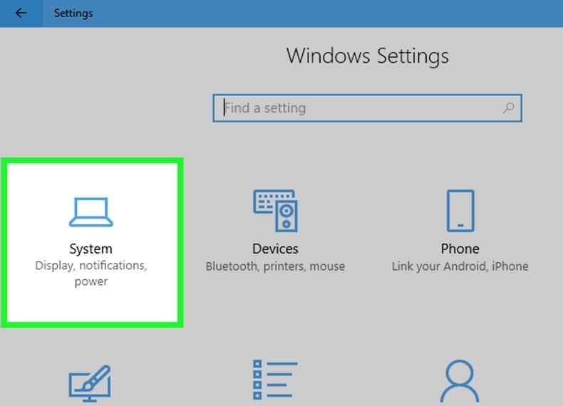 تنظیمات تصویر لپ تاپ برای تلویزیون