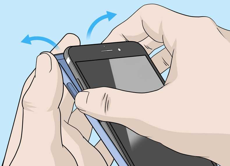 تمیز کردن کامل موبایل