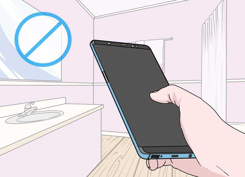 جلوگیری از کثیفی موبایل