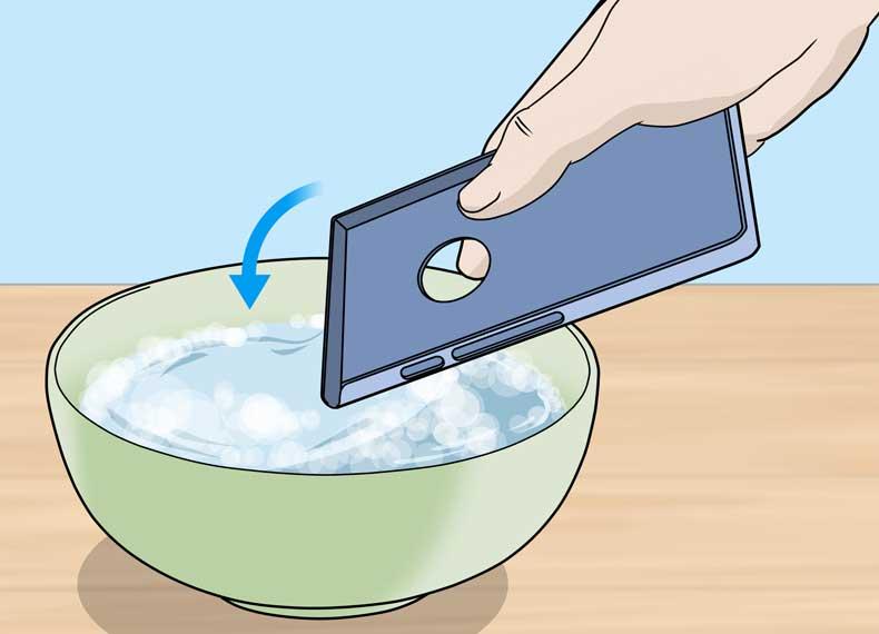 ضدعفونی تلفن همراه