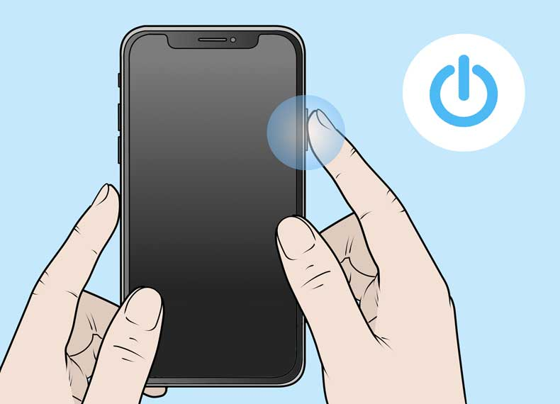 خاموش کردن موبایل