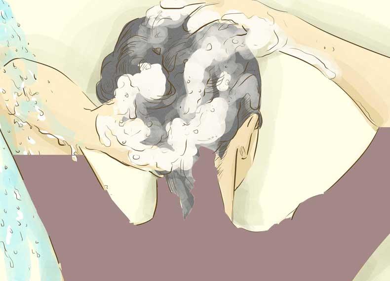 جلوگیری سریع از ریزش مو