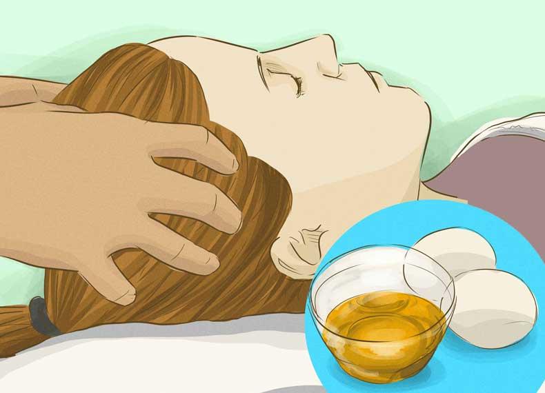 ماساژ سر برای جلوگیری از ریزش مو