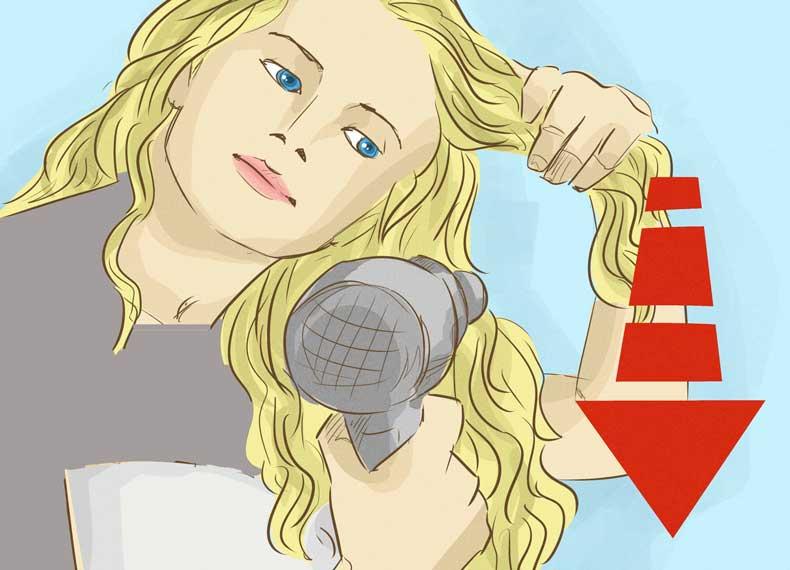 علت ریزش مو زنان