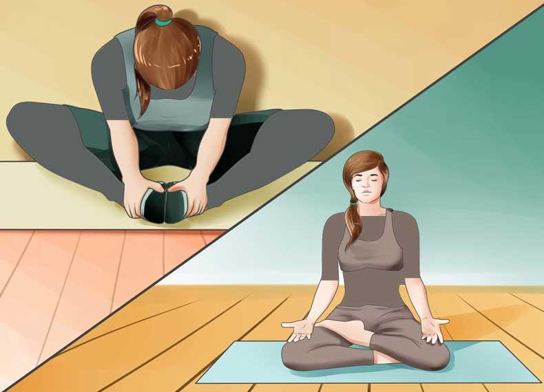 حرکات ورزشی برای استرس