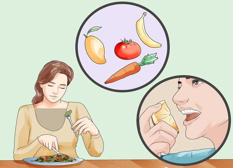 کاهش استرس با موادغذایی