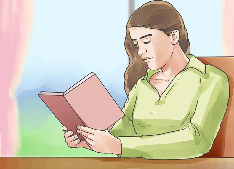 کاهش استرس با مطالعه