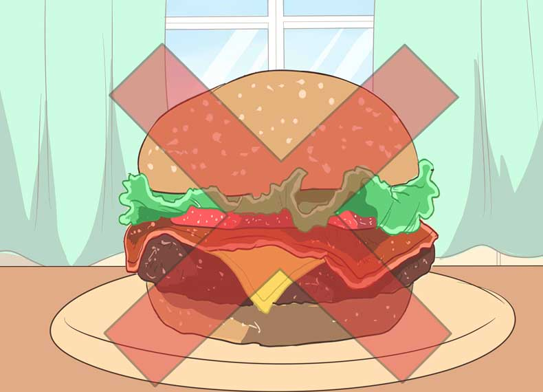 موادغذایی مضر برای اسهال