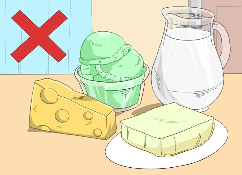 موادغذایی مشکل ساز برای اسهال