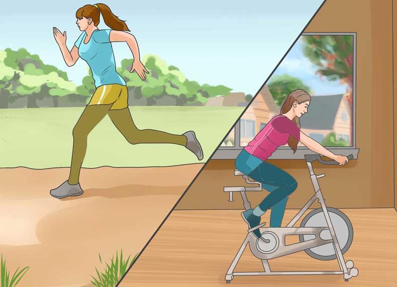 رابطه ورزش و ترک پا