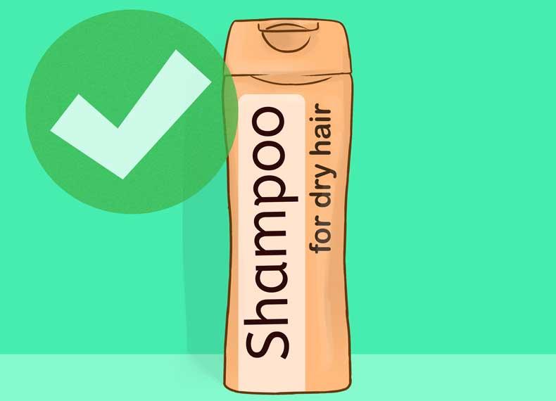 شامپو برای خشکی پوست سر