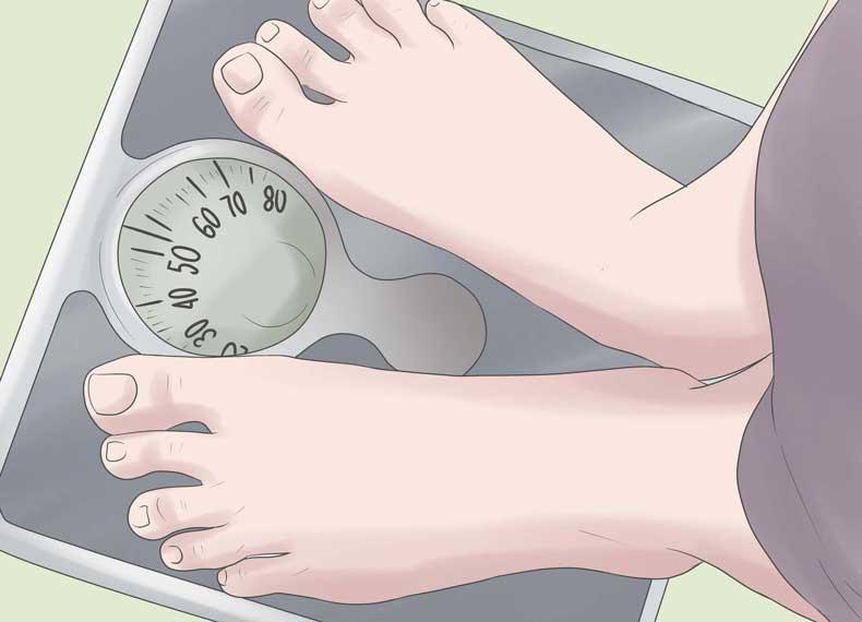 اضافه وزن و عرق کف دست