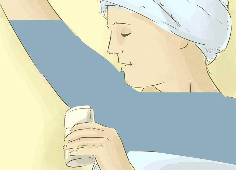ضد تعریق زیر بغل قوی